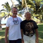 Dani with Sifu Fong Ha on Maui 2012